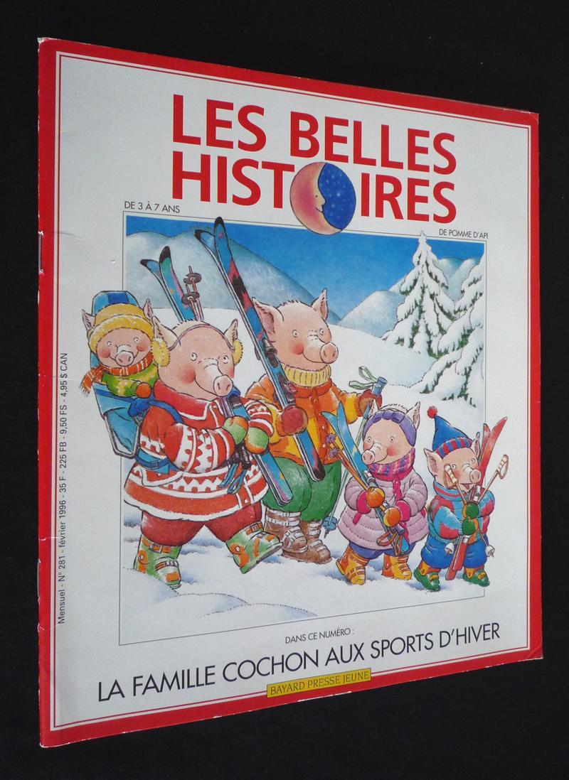 La famille cochon aux sports d'hiver - Bayard presse - 01/01/1996