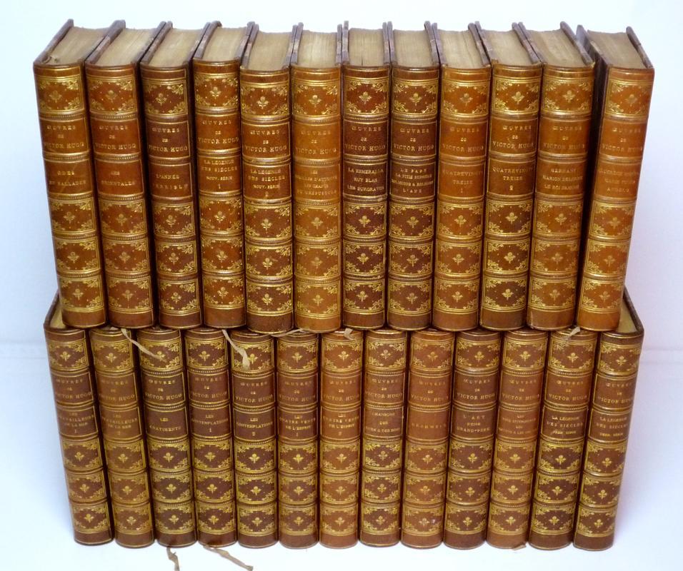 Oeuvres De Victor Hugo 25 Volumes