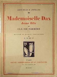 Mademoiselle Dax, jeune fille: Farrà re Claude
