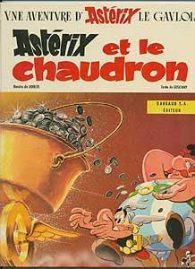 Astérix et le chaudron: Goscinny