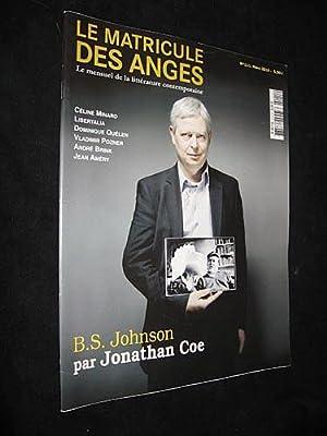 Le Matricule des Anges, mars 2010, numéro: Collectif
