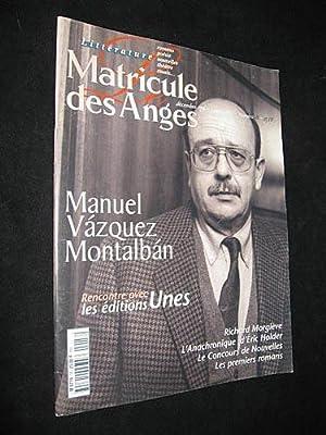 Le Matricule des Anges, décembre 1996-janvier 1997,: Collectif