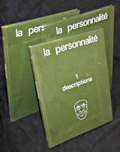 La personnalité.: Guelfi J.D., Pichot