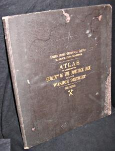 Atlas to Accompany the Geology of the: Becker, George F.