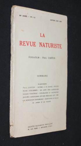 La revue naturiste 20e année, n°1-2, janvier-juin: Collectif