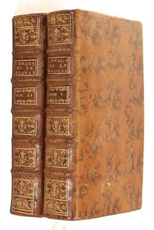 Les Caractà res de Thà ophraste, avec: La Bruyà re