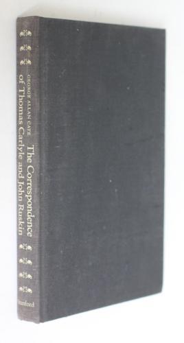 The correspondance of Thomas Carlyle and John: Carlyle Thomas,Ruskin John