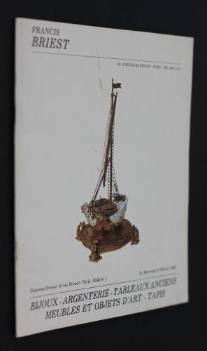 Montres - Bijoux - Argenterie - Dessins: Collectif
