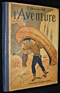 L'Aventure. Deuxià me reliure à diteur (n°27: Bierce Ambrose,Conan Doyle