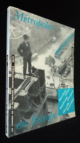Les Cahiers de la recherche architecturale (n°30-31): Bonillo Jean-Lucien,Fabre Mario,Donzel