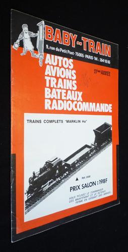 Baby-Train (27e annà e). Autos, avions, trains,: Collectif