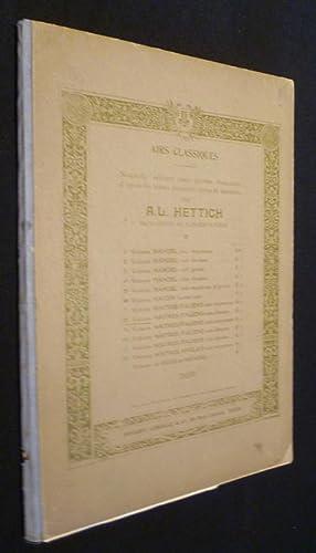 Airs classiques. Nouvelle à dition avec paroles: Hettich A.L.