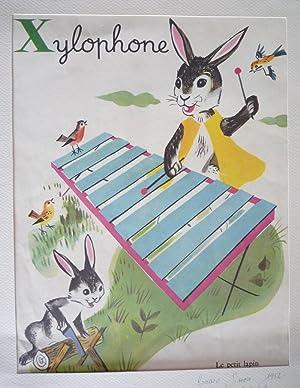 Illustration de Romain Simon : Xylophone (Mon: Simon Romain