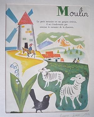 Illustration de Romain Simon : Moulin (Mon: Simon Romain