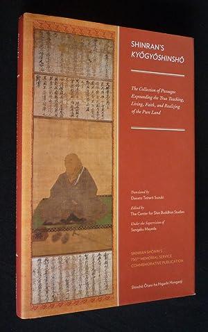 Shinran's Kyogyoshinsho: The Collection of Passages Expounding: Mayeda Sengaku,Suzuki Daisetz