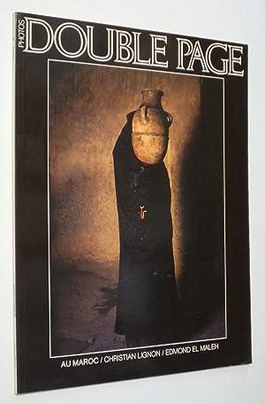 Double Page (n°20) : Au Maroc: Lignon Christian,El Maleh