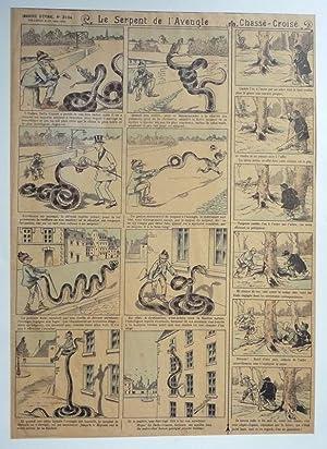 Imagerie d'Epinal, n°3104 : Le Serpent de: Anonyme