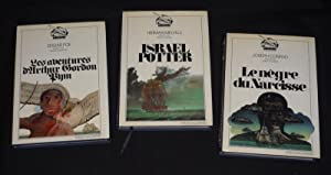 Lot de 3 volumes de la collection: Poe Edgar-Allan,Melville Herman,Conrad