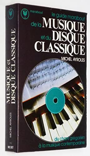 Le Guide Marabout de la Musique et: Ayroles Michel