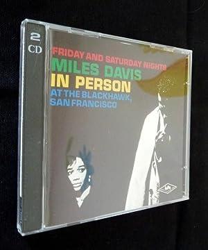 Miles Davis in person Friday and Saturday: Davis Miles