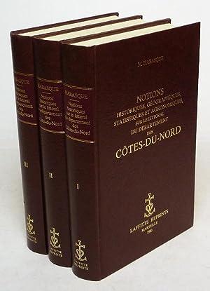 Notions historiques, géographiques, statistiques et agronomiques, sur: Habasque M.