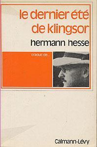 Le dernier à tà de Klingsor: Hesse Hermann