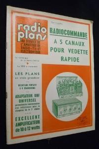 Radio plans au service de l'amateur de: Collectif