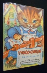 Minou-chaton, album à colorier: Farrar