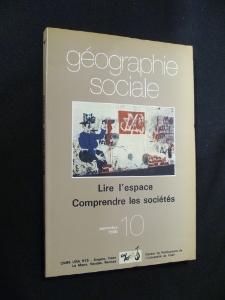 Lire l'espace, comprendre les socià tà s: Collectif