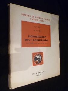 Monographie des landolphiées (classification des apocynacées, XXXV), n° 35: ...