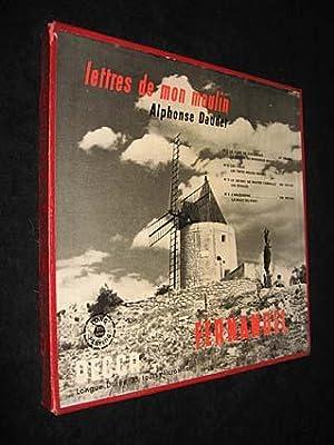 Lettres de mon moulin (4 vinyles): Daudet Alphonse,Fernandel