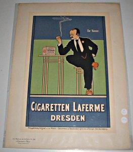Cigaretten Laferme. Dresden - Les Maîtres de: Anonyme