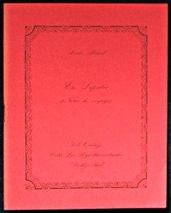En Liputie (Notes de voyage): Bénal Louis