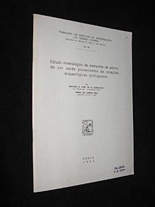 Estudo mineralogico de elementos de adorno de: Hut de B.