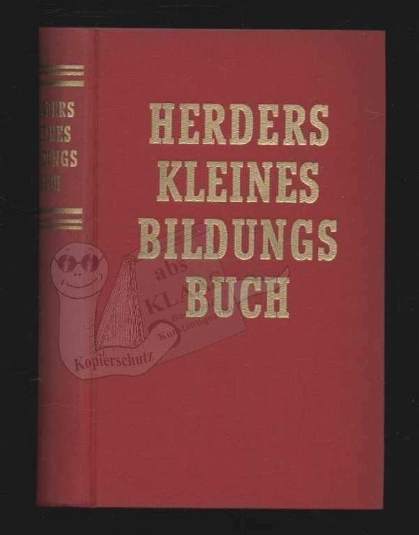 Herders kleines Bildungsbuch: o. A.