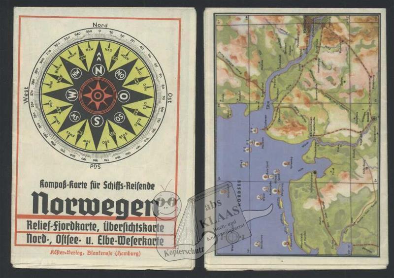 Karte kompass zvab