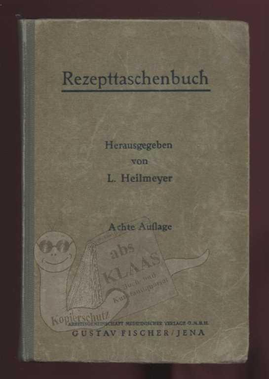 Rezepttaschenbuch Heilmeyer Hc 1950 Studium & Wissen