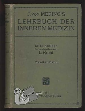 J. von Mering's Lehrbuch der Inneren Medizin.: Krehl, L. (Hrsg.)