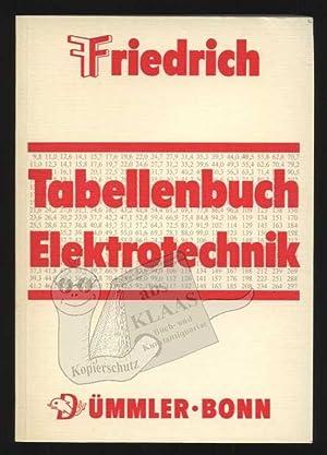 Friedrich Tabellenbuch Elektrotechnik/Elektronik. Technologie (Fachkunde), Technische Mathematik: Friedrich, Wilhelm; Teml,