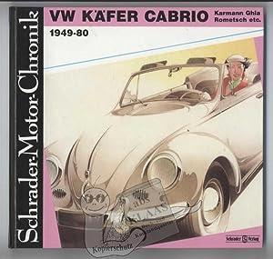 VW Käfer Cabrio, Karmann Ghia, Rometsch. 1949-80.: Zeichner, Walter