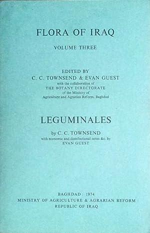 Flora of Iraq vol. 3: Leguminales: Townsend, C.C. &