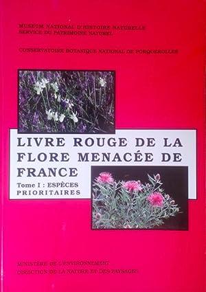 Livre Rouge de la Flore Menac?e de: Olivier, L., Galland,