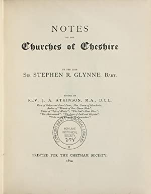 Notes on the churches of Cheshire