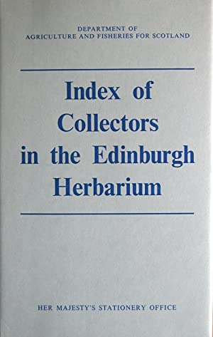Index of collectors in the Edinburgh Herbarium: Hedge, Ian C.