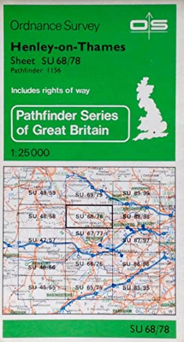 Pathfinder map sheet 1156: Henley-on-Thames