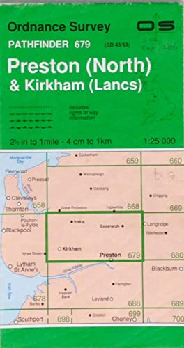 Pathfinder map sheet 679: Preston (North) and Kirkham