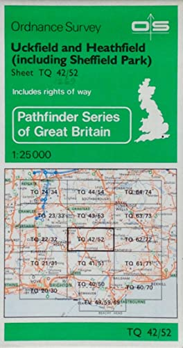 Pathfinder map sheet 1269: Uckfield and Heathfield (including Sheffield Park)