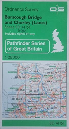Pathfinder sheet 699 (Burscough Bridge and Chorley)