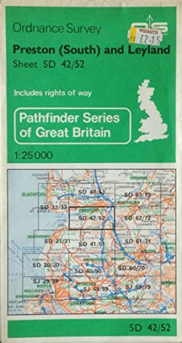 Preston (South) and Leyland Pathfinder sheet SD 42/52
