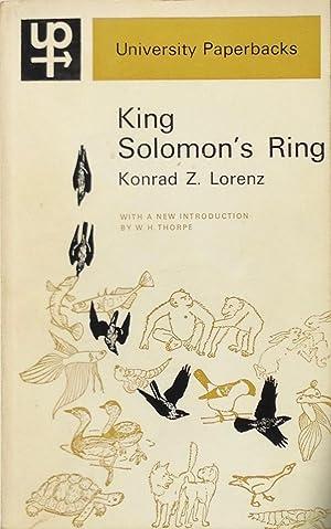 King Solomon's Ring: new light on animal: Lorenz, K.Z.